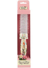 The Vintage Cosmetic Company Floral Round Blow Dry Hair Brush