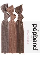 Popband London Popband Brown Headbands Brown Haarband 1.0 pieces