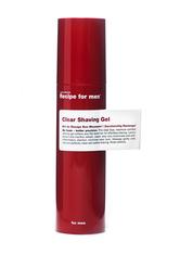 Recipe for men Produkte Clear Shaving Gel Rasierschaum 100.0 ml