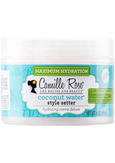 CAMILLE ROSE NATURALS - Camille Rose Naturals Coconut Water Style Setter Hydrating Crème Deluxe 240ml - GEL & CREME