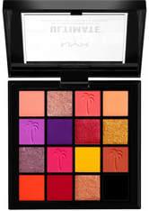 NYX Professional Makeup Ultimate Shadow Palette Lidschatten Palette 13.3 g Nr. 13 - Festival
