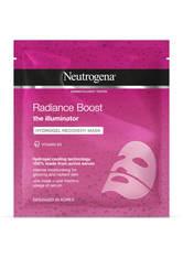 NEUTROGENA - Neutrogena Radiance Boost Hydrogel Recovery Mask 30 ml - TUCHMASKEN