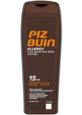 PIZ BUIN - Piz Buin Allergy Sun Sensitive Skin Lotion - Medium SPF15 200ml - SONNENCREME