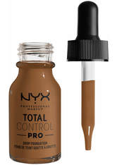 NYX Professional Makeup Total Control Pro Drop Controllable Coverage Foundation 13ml (Various Shades) - Sienna