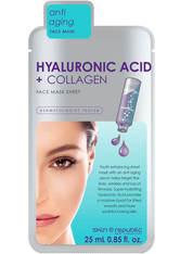 SKIN REPUBLIC - Skin Republic Hyaluronic Acid + Collagen Face Sheet Mask 25ml - TUCHMASKEN