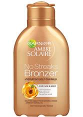 GARNIER - Garnier Ambre Solaire No Streaks Moisturising Bronzer Milk (150ml) - SELBSTBRÄUNER