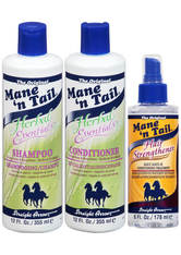 MANE 'N TAIL - Mane 'n Tail Herbal Essentials Hair Strengthening 3 Pack Kit - HAARPFLEGESETS