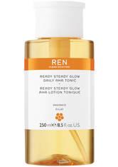 Ren Clean Skincare Tonic Radiance Ready Steady Glow Aha Daily Tonic Tonikum 250.0 ml