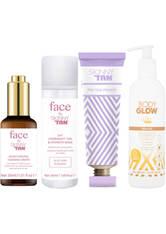 SKINNY TAN - Skinny Tan Face and Body Glow Bundle - Pflegesets