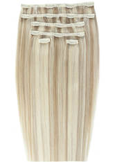 Beauty Works Double Hair Set 18 Inch Clip-In Hair Extensions (Various Shades) - Champagne Blonde 613/18