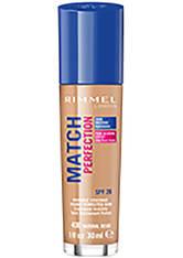 Rimmel Match Perfection Foundation 30ml 400 Natural Beige (Medium, Neutral)