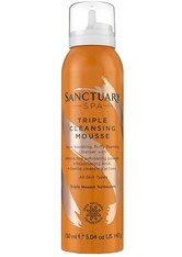 Sanctuary Spa Triple Cleansing Mousse 150 ml
