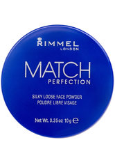Rimmel Match Perfection Silky Loose Face Powder 10g Transparent
