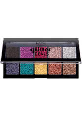 NYX Professional Makeup Glitter Goals Cream Pro Palette Lidschatten Palette 12 g No_Color