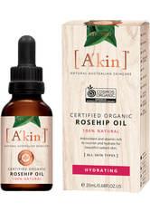 A'KIN - A'kin Certified Organic Pure Radiance Rosehip Oil 20ml - GESICHTSÖL