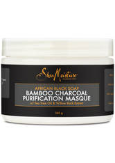 SHEA MOISTURE - Shea Moisture African Black Soap Bamboo Charcoal Masque 354ml - Exclusive - HAARMASKEN