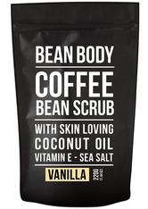 BEAN BODY - BEAN BODY Coffee Scrub Vanilla Körperpeeling  220 g - Körperpeeling