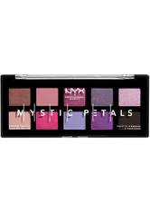 NYX Professional Makeup Mystic Petals  Lidschatten Palette 8 g Nr. 01 - Midnight Orchid