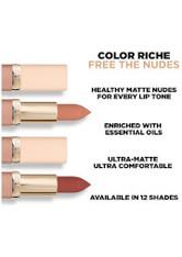 L'Oréal Paris Color Riche Ultra-Matte Nude Lipstick 5g (Various Shades) - 10 No Pressure