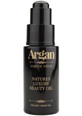 ARGAN LIQUID GOLD - Argan Liquid Gold Natures LuxuryBeauty Öl 30 ml - GESICHTSÖL