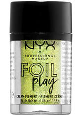 NYX PROFESSIONAL MAKEUP - NYX Professional Makeup Foil Play Cream Pigment Eyeshadow (verschiedene Farbtöne) - Happy Hippie - LIDSCHATTEN