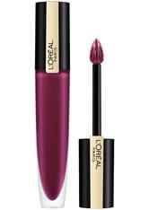 L'ORÉAL PARIS - L'Oréal Paris Rouge Signature Metallic Liquid Lipstick 7ml (Various Shades) - 204 Voodoo - Liquid Lipstick