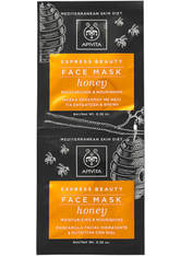 APIVITA Express Moisturizing Face Mask - Honey 2x8ml