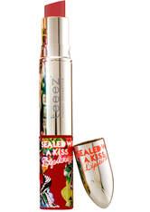 TEEEZ COSMETICS - Teeez Cosmetics Sealed with a Kiss Lip Duo (verschiedene Farbtöne) - Retro Mocha - LIQUID LIPSTICK