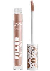 NYX PROFESSIONAL MAKEUP - NYX Professional Makeup Filler Instinct Plumping Lip Polish 2.5ml (Various Shades) - Brunch Drunk - LIQUID LIPSTICK