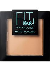 MAYBELLINE - Maybelline Fit Me Matte & Poreless Powder (verschiedene Farbtöne) - 220 Natural Beige - Gesichtspuder