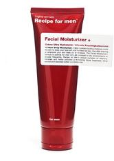 C/O RECIPE FOR MEN - Recipe for men Produkte Facial Moisturizer Plus Gesichtslotion 75.0 ml - GESICHTSPFLEGE