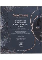 Sanctuary Spa Charcoal Bubble Sheet Mask 22 g