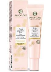 SANOFLORE - Sanoflore Rosa Angelica Rich Dewy Morning Moisturiser 40 ml - TAGESPFLEGE