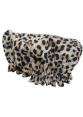 HYDREA LONDON - Hydrea London Eco Friendly Shower Cap - Leopard - DUSCHEN & BADEN