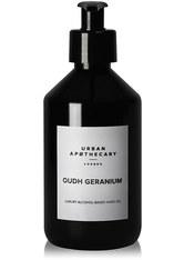 Urban Apothecary London Oudh Geranium Luxury Alcohol-Based Hand Gel Händedesinfektionsmittel 300 ml