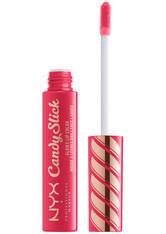 NYX PROFESSIONAL MAKEUP - NYX Professional Makeup Candy Slick Glowy Lip Gloss (Various Shades) - Watermelon Taffy - LIQUID LIPSTICK