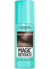 L'Oréal Paris Magic Retouch Temporary Instant Root Concealer Spray 75ml (Various Shades) - Dark Brown