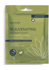BEAUTYPRO - BeautyPro REJUVENATING Collagen Sheet Mask with Green Tea Extract 23g - Tuchmasken