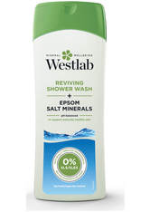 WESTLAB - Westlab Reviving Shower Wash with Pure Epsom Salt Minerals 400 ml - KÖRPERPEELING