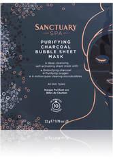 SANCTUARY SPA - Sanctuary Spa Charcoal Bubble Sheet Mask 22 g - TUCHMASKEN