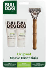 BULLDOG - Bulldog Skincare For Men Shave Essentials Kit - Rasier Tools