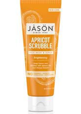 JASON Brightening Apricot Scrubble Pure Natural Facial Wash & Scrub 113g