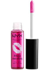NYX PROFESSIONAL MAKEUP - NYX Professional Makeup This is Everything Lip Oil Sheer (Various Shades) - Sheer Berry - LIPPENÖL