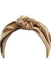 SLIP - Slip Silk Knot Headband - Gold - HAARBÄNDER & HAARGUMMIS