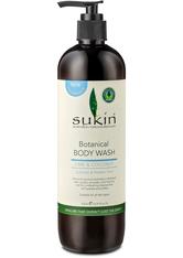 Sukin Botanische Limette& Coconut Body Wash 500ml