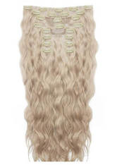 BEAUTY WORKS - Beauty Works 22 Inch Beach Wave Double Hair Extension Set (Various Shades) - L.A. Blonde - Extensions & Haarteile