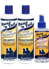 MANE 'N TAIL - Mane 'n Tail Deep Moisturizing Hair Strengthening 3 Pack Kit - HAARPFLEGESETS
