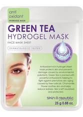 SKIN REPUBLIC - Skin Republic Hydrogel Face Sheet Mask Green Tea 25g - TUCHMASKEN