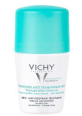 VICHY - Vichy Deodorant 48Hour Intensive Anti-Transpirant Roll On 50ml - DEODORANTS