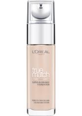L'Oreal Paris True Match Liquid Foundation with SPF & Hyaluronic Acid 30ml 1C Rose Ivory